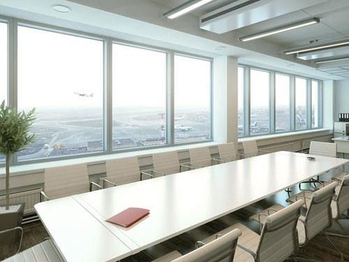 Выбор пластиковых окон для офиса