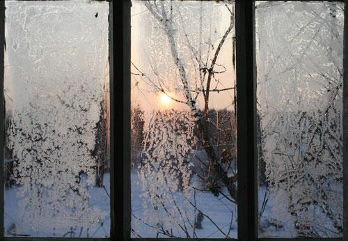 Зимний монтаж окон