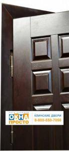 Двери с отделкой МДФ и филёнкой