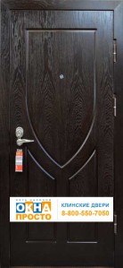 Двери с отделкой МДФ + Крюк