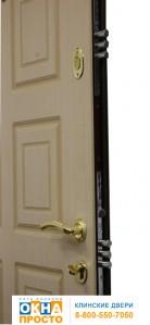 Двери с отделкой МДФ с двух сторон